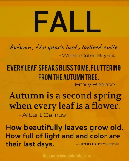Fall Quotes Printable
