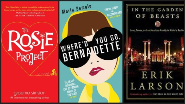 Book Reviews- The Rosie Project, Where'd You Go, Bernadette & In the Garden of Beasts