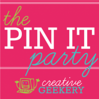 Creative Geekery Pin It Party