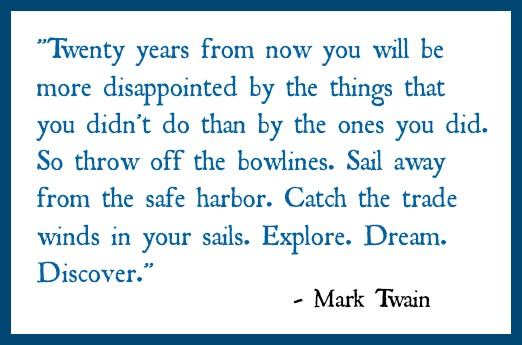 New Year's Quote by Mark Twain