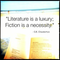 Fiction is a Necessity