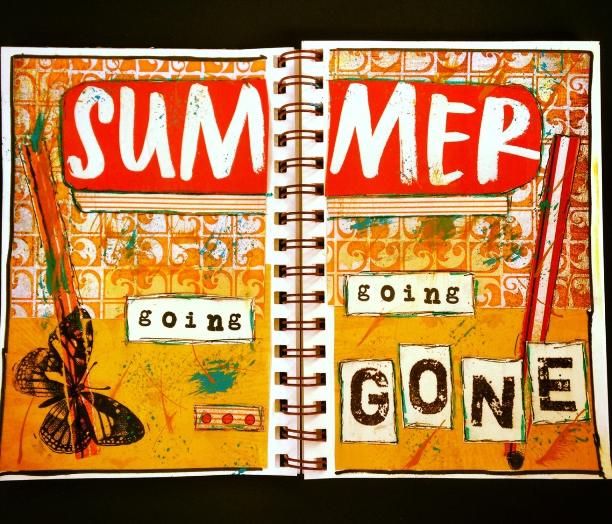 Art Journaling Summer