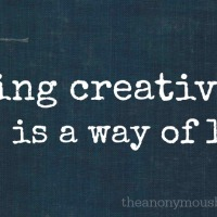 Call Yourself Creative...I Dare You