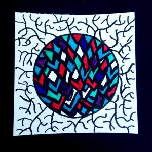 Multi-colored Doodle